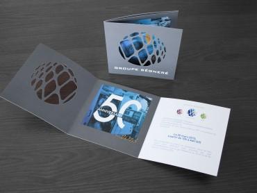 Carton invitation - création graphique Nowooo