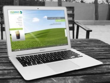 création du site internet Vegepack