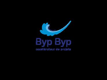 Création du Logo BypByp par l'agence de communication Nowooo (Pau).