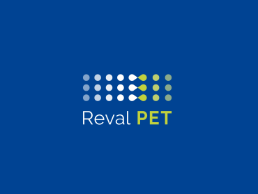Création graphique du logo REVAL PET, programme de valorisation du plastique opaque PET