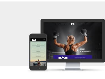 Branding de TYM, Train Your Mind, préparation mentale pour sportif par l'agence de communication Nowooo