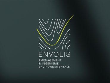 Relooking de l'identité visuelle de Envolis par Nowooo. L'objectif : donner du sens au logo et porter les valeurs de la société. Découvrez la communication.