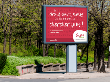 campagne de communication Gasco Nature par l'agence de communication Nowooo (agence paloise)